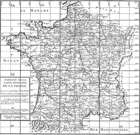 La France par Cassini