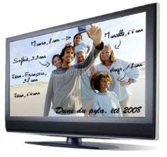 Vos photos de famille sur un lecteur dvd