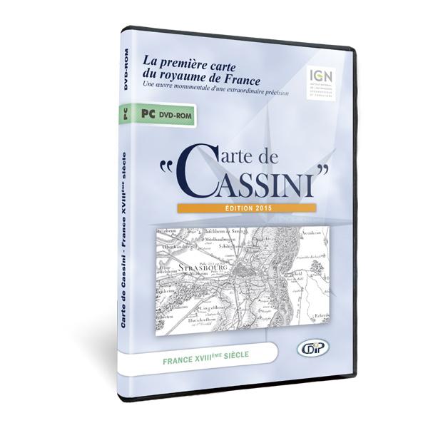 Boite DVD de Carte de Cassini