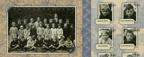 Vos photos de famille en scrapbooking