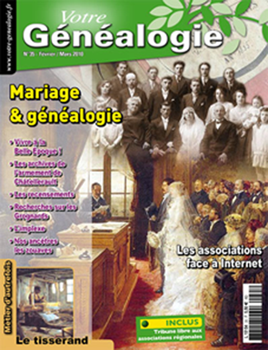 Sommaire Votre genealogie N°35