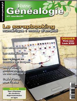 Sommaire Votre genealogie N°40