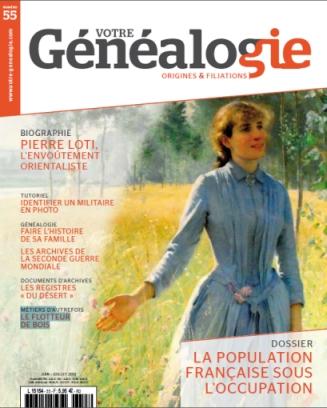 Sommaire Votre genealogie N°55