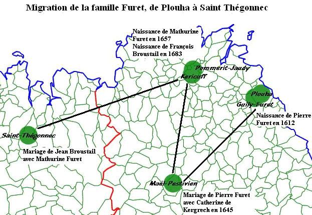 Carte de migration
